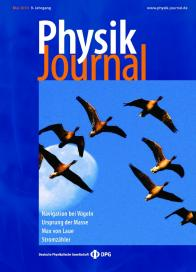 How birds and other animals orient in the Earth magnetic field. Image credit: Ilia A. Solov'yov, Klaus Schulten, and Walter Greiner. Physik Journal, 9:23-28, 2010